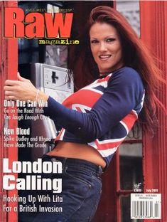 Picture of Amy Dumas Wrestling Divas, Women's Wrestling, Wwe Lita, Wrestlemania 29, Raw Wwe, Trish Stratus, British Invasion, Wwe Womens, Cover Model