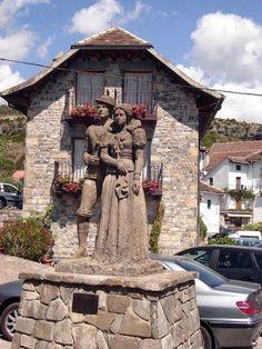 Hecho, Huesca, España.