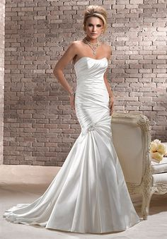 Kyle, Maggie Sottero Love the rushing