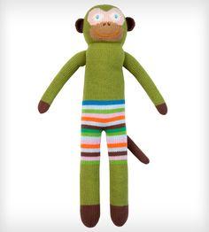 Verdi the Monkey Doll |  Blabla Kids