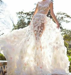@Regrann from @wedding.dress.love -  Are you a modern bride? This amazing dress by @oksana_mukha_official is sure to work with any modern wedding theme   Double tap if you like it! . . . . #weddingforward #weddingblog #weddingfashion #bridalfashion #bridalgown #veil #beautifulbride #свадебноеплатье #fashioninspo #gelinlik #abito #weddinggown #hautecouture #gown #weddingdress #gowninspo #lace #свадьба #weddings #weddingphotographer #bridesmaid #weddinginspiration #weddingparty #weddingidea...