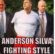 Fighting Anderson Silva style