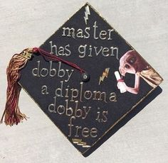 This cap thats just clever AF Community Post 12 Harry Potter Grad Caps Youll Be Jealous Of