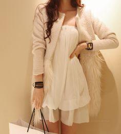 love the half fur coat