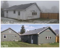 18 Best Before And After With Gentek Images House Exteriors House