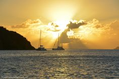 Sunset British Virgin Islands | Home is Where the Boat Is
