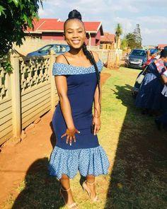 Beautiful Shweshwe Dresses 2019 Shweshwe Dresses 2019 - This Beautiful Shweshwe Dresses 2019 photos was upload on February, 29 2020 by admin. Here latest Shweshwe Dresses 2019 photos. South African Dresses, African Fashion Dresses, Wedding Dress Trends, Gorgeous Wedding Dress, Wedding Dresses, Wedding Ideas, Fit N Flare Dress, Fit And Flare, Shweshwe Dresses
