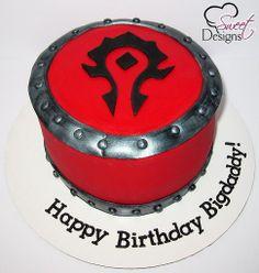 World of Warcraft Horde Cake