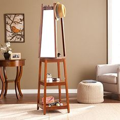 southern enterprises he7658 adams espresso swivel mirror hall tree you can find more