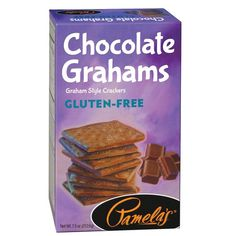 Pamela's Grahams Chocolate Gluten Free (6x7.5Oz)
