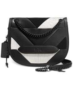 COACH SHADOW CROSSBODY IN PIECED LEATHER