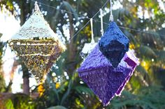 Purple Wedding Inspiration | Pinatas