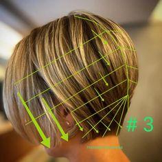Asian Short Hair, Short Hair Cuts, Short Hair Styles, Hair Cutting Videos, Hair Cutting Techniques, Bob Hairstyles For Fine Hair, Short Bob Haircuts, Bob Haircut For Fine Hair, Bridal Hair Buns