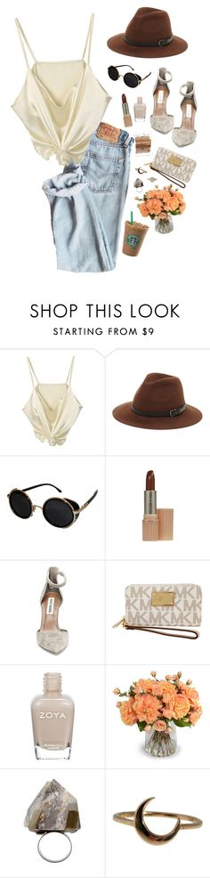 """""""nyc."""" by gre17 ❤ liked on Polyvore featuring Sole Society, Topshop, Paul & Joe, Steve Madden, Michael Kors, Zoya, New Growth Designs, COSTUME NATIONAL, Lulu Frost and Tamara Comolli"""