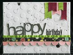 Happy Birthday #card by LauraVegas #SCTMagazine