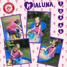 Wochennährückblick und Probenähen für #Mialuna - Topas  #LovelyPauNiBlog #LovelyPauNi