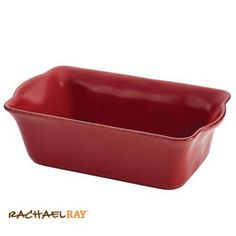 "Rachael Ray Cucina 9"" x 5"" Loaf Pan, Cranberry Red #giveaway #CucinaHolidays"