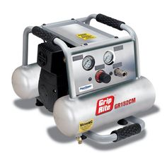 Save $ 62.3 order now Grip-Rite GR152CM 1.5HP 2 Gallon Twin Tank Compressor at P