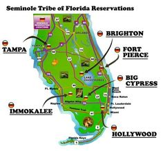 Seminole Reservations in Florida