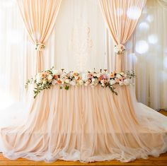 Bride Groom Table, Sweetheart Table, Wedding Decorations, Wedding Ideas, Tulle, Instagram Posts, Tutu, Wedding Decor, Wedding Ceremony Ideas