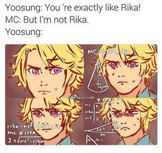MC is not Rika lolololol