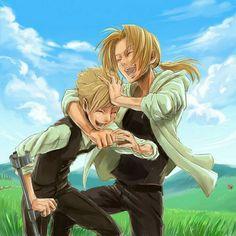 Fullmetal Alchemist | Alphonse & Edward Elric