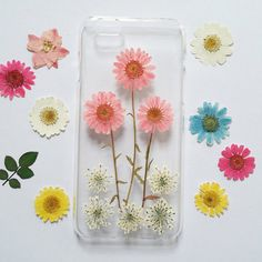 Pressed Flower iPhone 6 Case iPhone 6 Case iPhone 6 by mugandcase