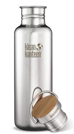 Kleen Kanteen Water Bottle -- never throw away another plastic bottle!