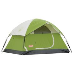 Coleman Durango 2-man (More like a 1 man tent) but since its more like a disc and just so compact when packed - It works a good deal for me, and well I always have the option to rig it down with those openings so no worries...