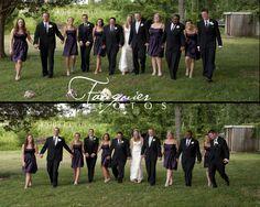 Fauquier Fotos | Warrenton, VA | Posts, Wedding photography, Bridal Party, Posing Ideas, Purple Colors, Eggplant, Wedding party