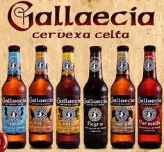 Cervezas: Gallaecia, cerveza celta+ En los últimos meses he visto en varias cervecerías una cerveza nueva que me llamaba la atención (so...