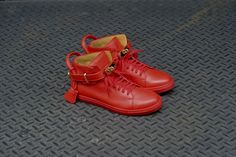Buscemi 100MM Shoe - Red | Sneaker | Kith NYC