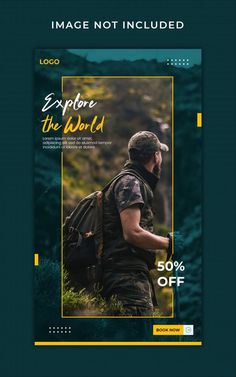 Download this Traveling instagram stories banner template Premium Psd, and discover more than 11 Million Professional Stock Photos on Freepik. #freepik #psd #travel #trip #instagramstories Graphic Design Flyer, Event Poster Design, Ad Design, Brochure Design, Banner Social Media, Social Media Poster, Instagram Design, Instagram Story, Social Design