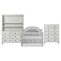 Evolur™ Julienne Nursery Furniture Collection In Grey Mist