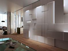 Cloison mobile SHINE WALL by ANAUNIA design Tommaso Pezzi