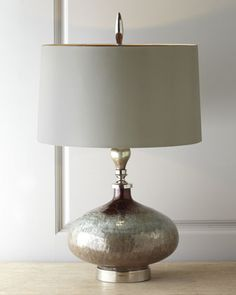 """Rainwater on Glass"" Table Lamp by John-Richard Collection at Horchow."