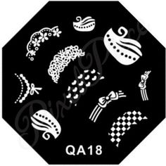 QA 18 Stamping Template