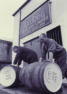 Ardbeg barrel pushers