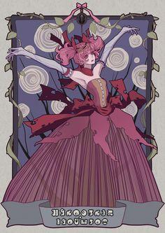 Puella Magi Madoka Magica. Madoka as Kriemhild Gretchen, her witch form