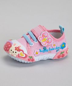 Look what I found on #zulily! Pink Bunny Sneaker by Papos #zulilyfinds