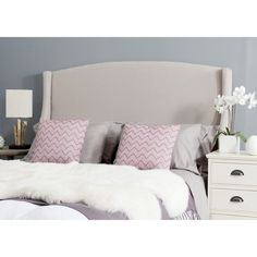 Safavieh Austin Taupe Headboard (Queen) - Overstock Shopping - Big Discounts on Safavieh Headboards
