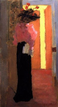 Edouard Vuillard, Lady of fashion, 1892 c.