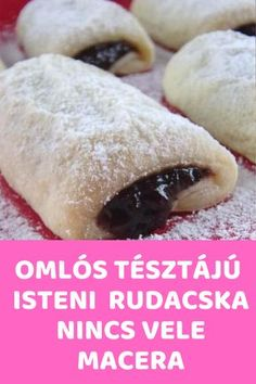 Nincs vele macera! #édesség #sütemény Hungarian Desserts, Hungarian Cuisine, Hungarian Recipes, Dessert Drinks, Dessert Recipes, Smoothie Fruit, Tea Cookies, Healthy Deserts, Small Cake