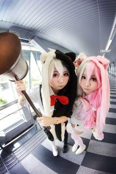 Monokuma from Super Danganronpa cosplay || anime cosplay