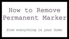 remove marker