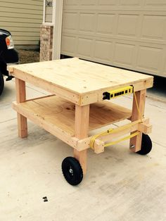 Movable Work Bench