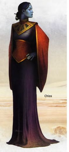 f Noble Sorcerer hilvl City Valarium Tower Robes Chiss - Wookieepedia, the Star Wars Wiki Star Wars Rpg, Star Trek, Star Wars Species, Edge Of The Empire, Cyberpunk, The Old Republic, Science Fiction, Sci Fi Characters, Fictional Characters