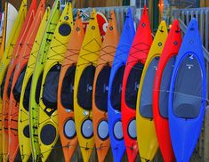 We're seriously considering getting a kayak! One of our all time favorite things to do together!!