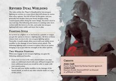 Just a quick thing I threw together for a friend Dungeons And Dragons Classes, Dungeons And Dragons Homebrew, Character Creation, Fantasy Character Design, Dnd Characters, Fantasy Characters, Dnd Feats, Dnd Stories, Player's Handbook
