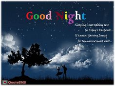 Wish your friends good night and sweet dreams at the end of the day to make their night a sweet one. Make feel special to your loved ones or crush by sending these #GoodNightMessage. Here we provide some Good Night Quotes and Good Night images for different way to wish a Good Night.